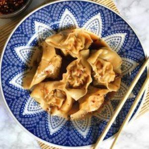 image recipe sichuan wontons