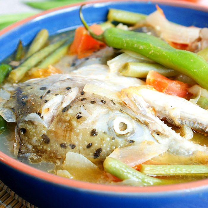 Sinigang Na Salmon Sa Miso Easy Recipe Amiable Foods