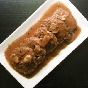 salisbury steak mushroom gravy