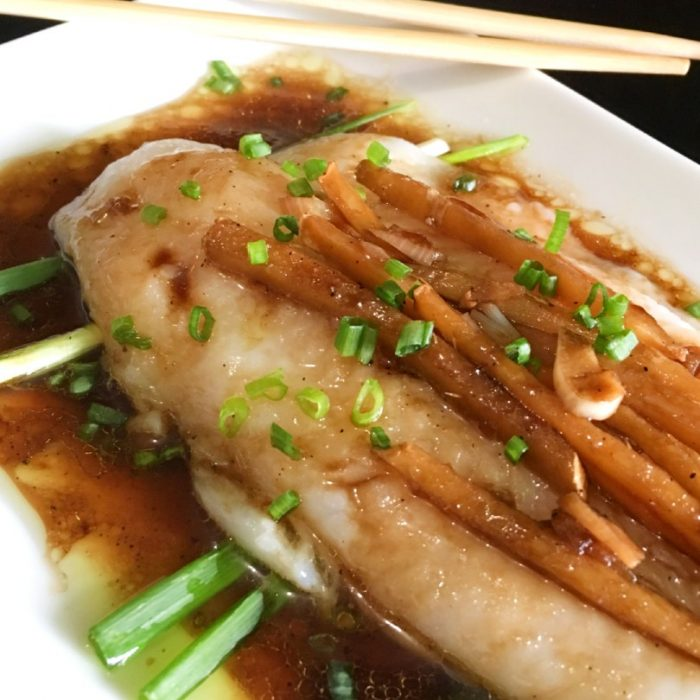 healthy steamed cod