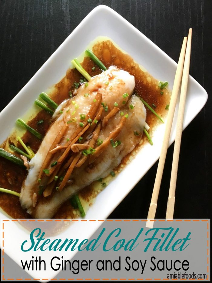 steamed cod fillet chopsticks