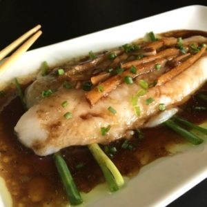 steamed cod recipe