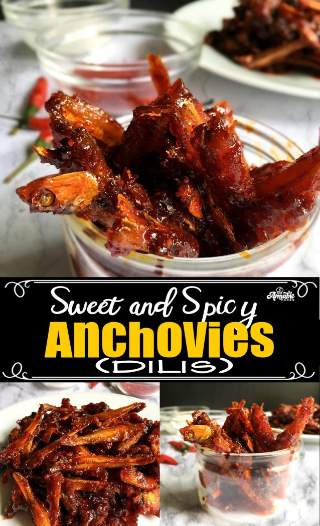 sweet and spicy dilis pinterest