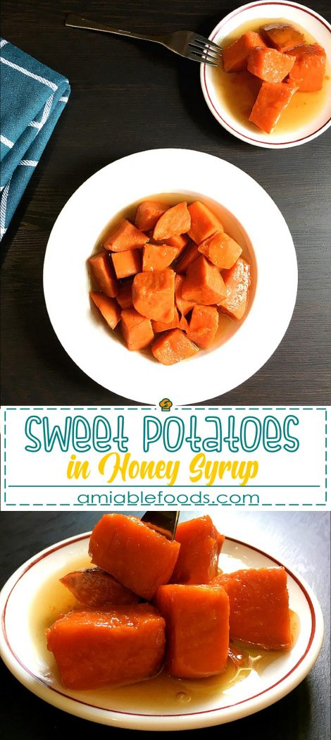 sweet potatoes in syrup