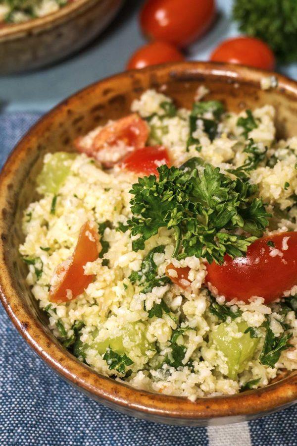 salad of vegetables in a bowl