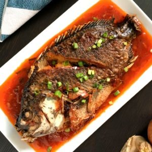 image recipe fried tilapia