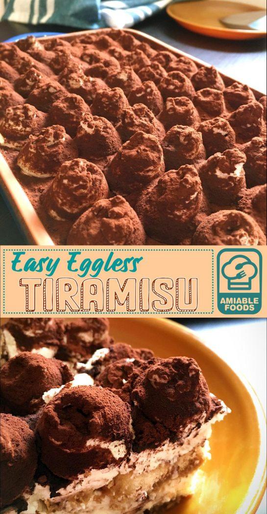 eggless tiramisu pinterest