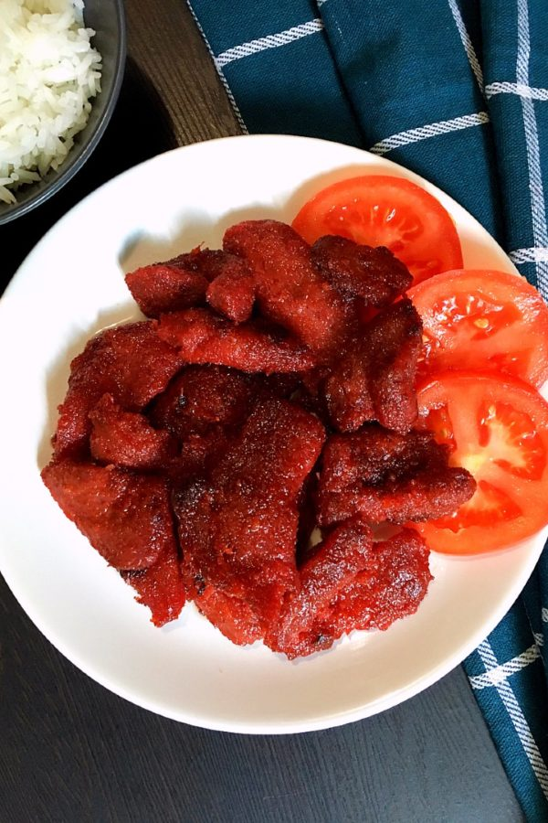 tocino with rice