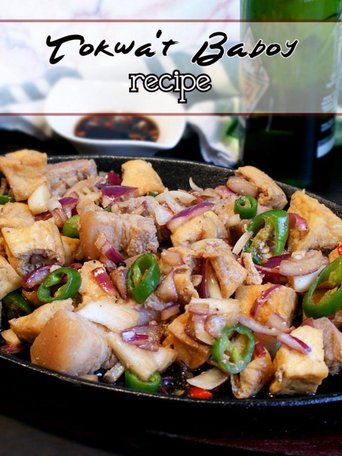 pork and tofu with onion and chili