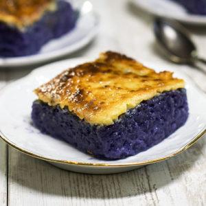 dessert in a plate