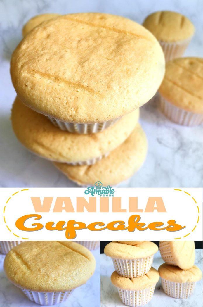 vanilla cupcake pinterest